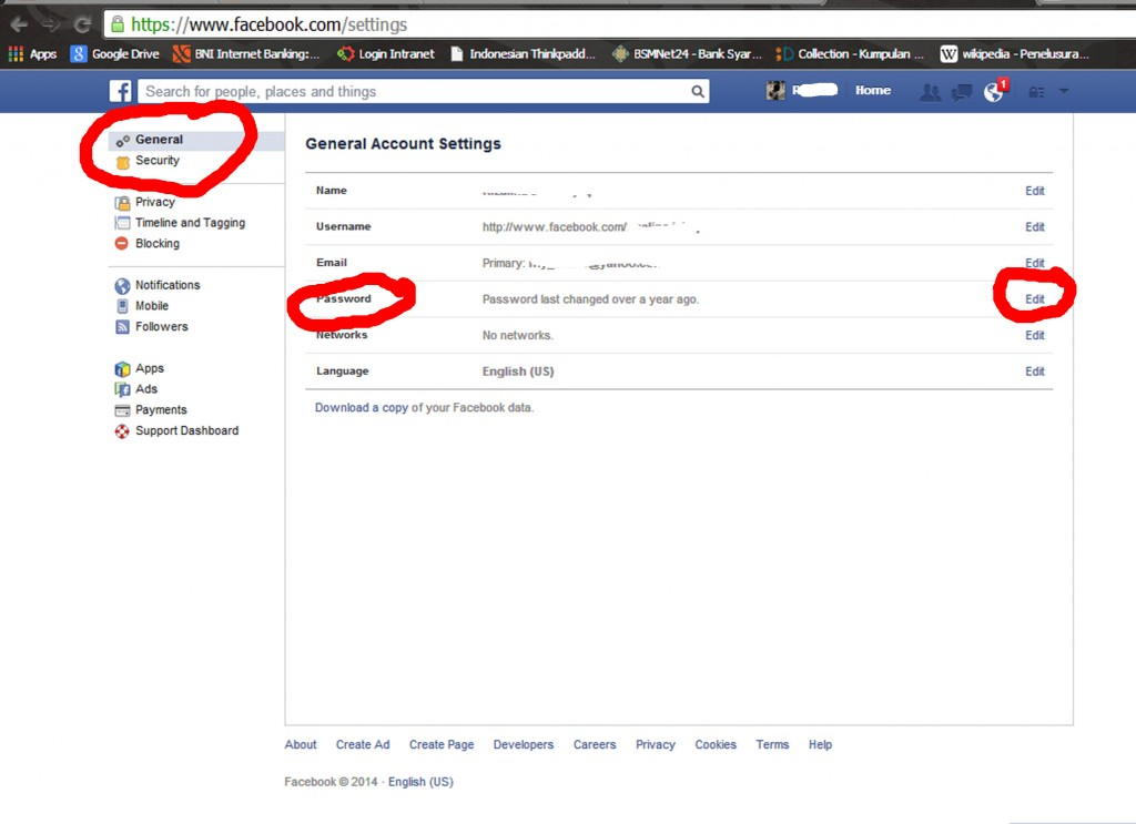 password FB 2