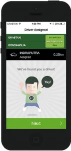 Aplikasi Grab Taxi Pengemudi